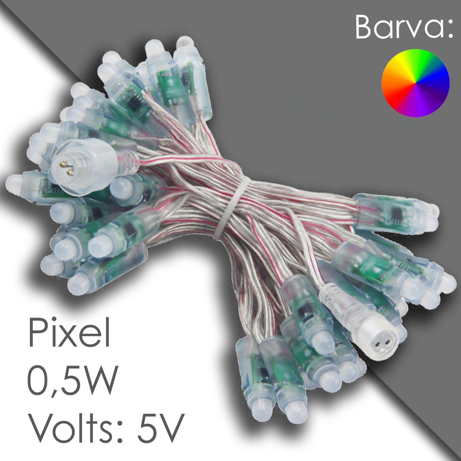 Led pixel 12mm programovatelný, voděodolný