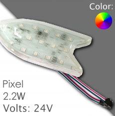 Led pixel 130mm DC 24V, programovatelný