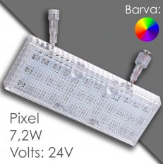 Led pixel 150mm DC 24V, programovatelný