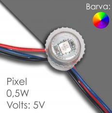 Led pixel 20mm DC 5V, programovatelný