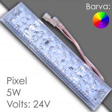 Led pixel 250mm DC 24V, programovatelný