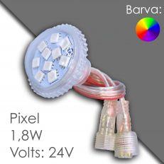 Led pixel 40mm DC 24V, programovatelný