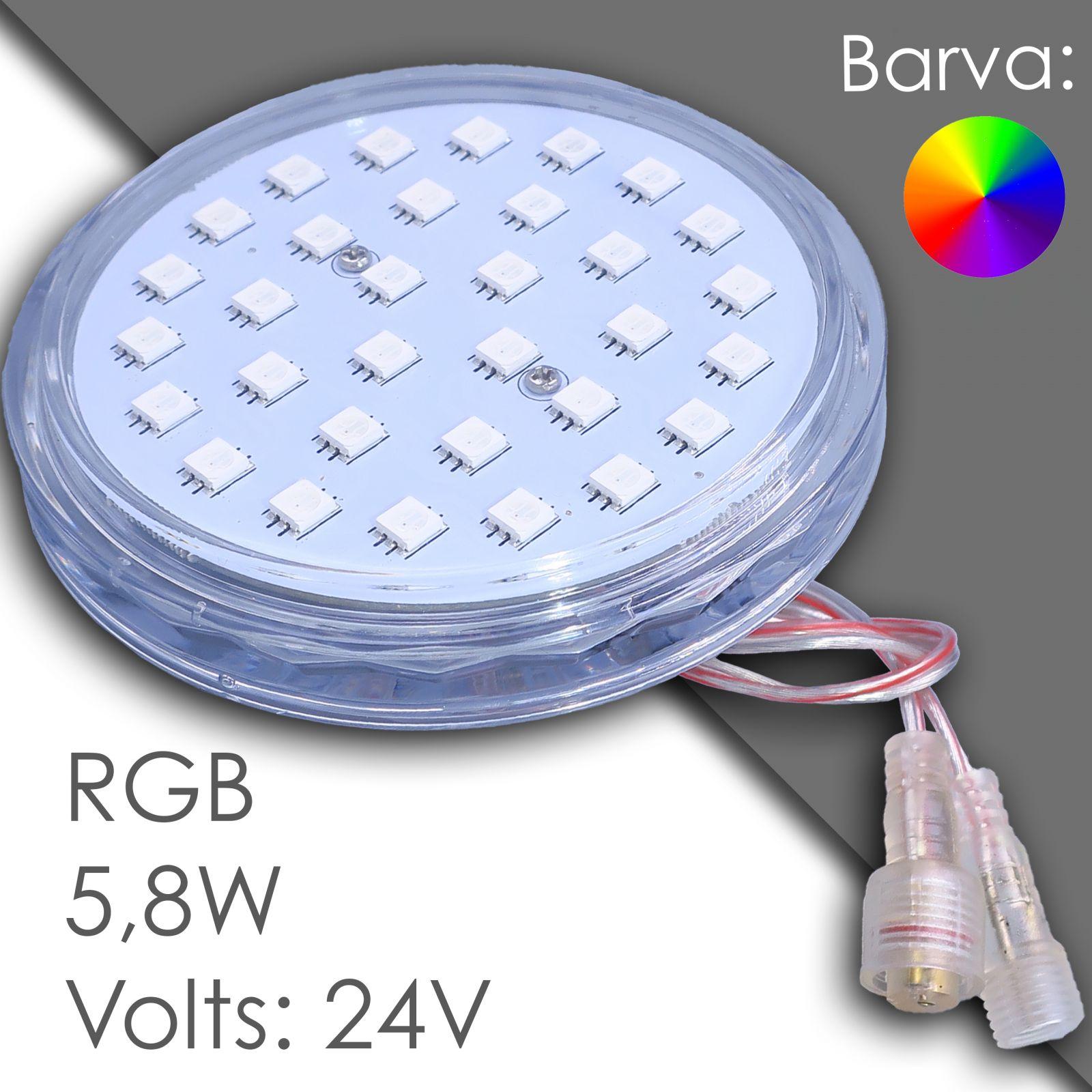 Led RGB 100mm automatic, voděodolný