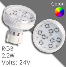 Led RGB 45/60mm AC 24V, automatic